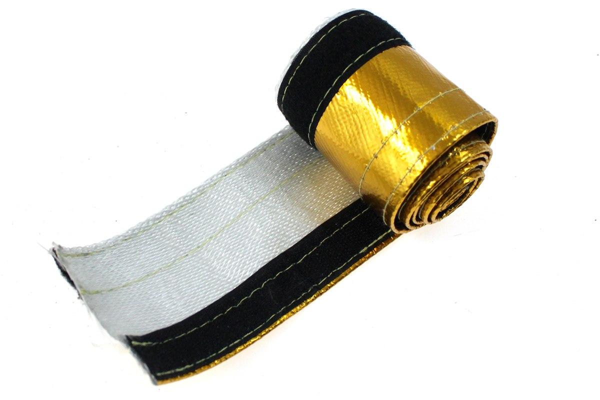 Osłona Termiczna przewodów złota 12mm 100cm - GRUBYGARAGE - Sklep Tuningowy